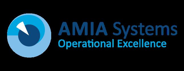 AMIA Systems logo-slogan